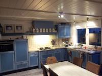 blauwe keuken 1